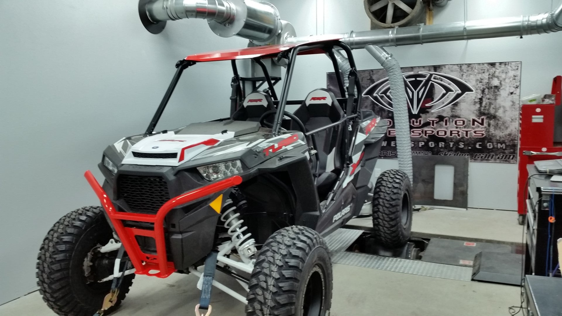 POLARIS XPRZR TURBO ON DYNO