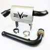 "2017-2020 Can Am Maverick X3 Magnus 3"" Turbo Full Back Exhaust System"