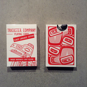 Signed Trickster Co. Playing Cards
