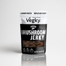 Load image into Gallery viewer, Pepper Shiitake Mushroom Jerky