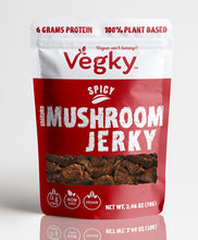 Load image into Gallery viewer, Mushroom Jerky 2 Flavors (70 Grams each)
