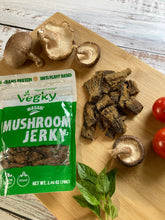 Load image into Gallery viewer, Mushroom Jerky Wasabi 70 Grams