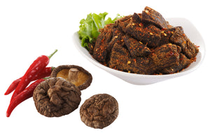 Mushroom Jerky Spicy 70 Grams - 5 Packs