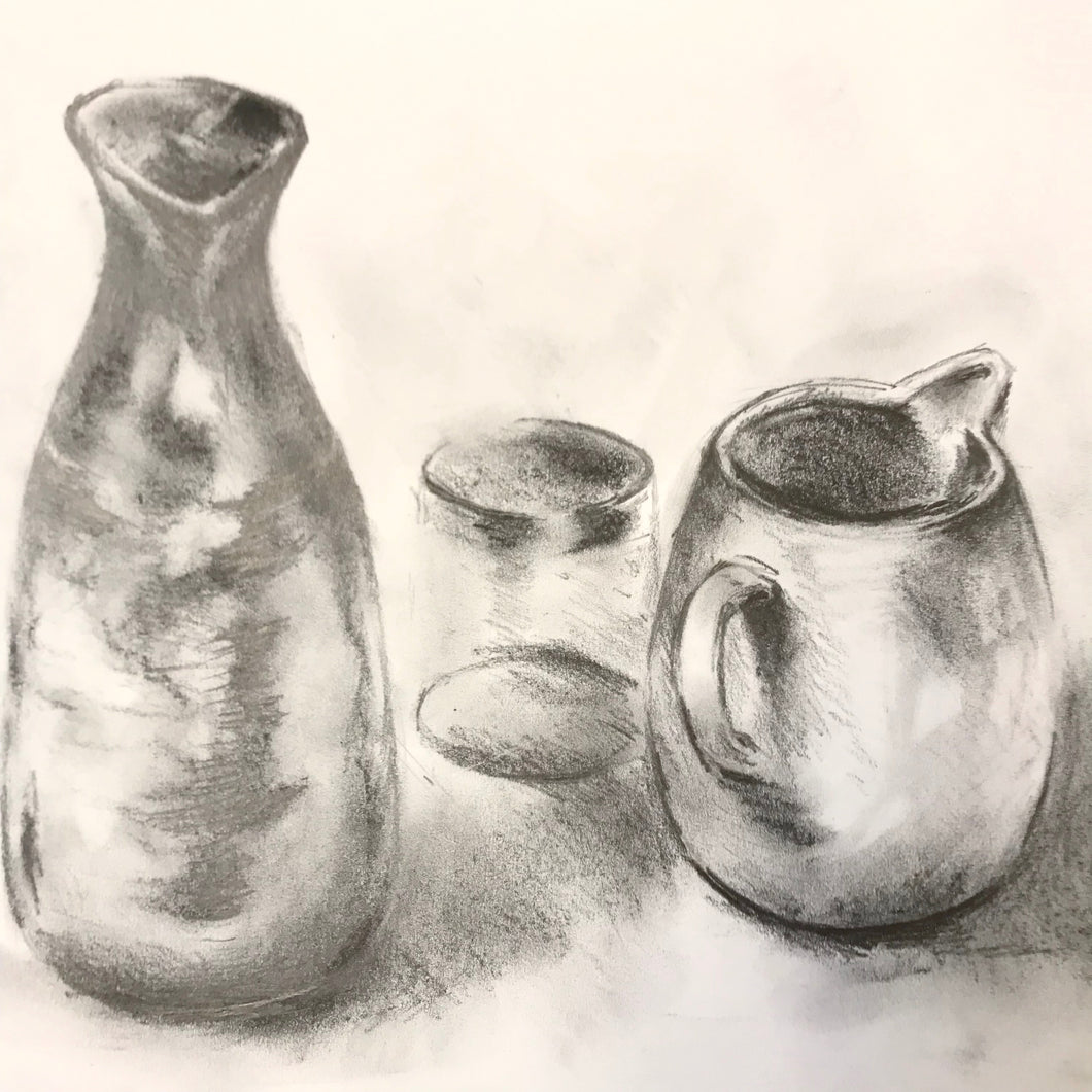 SPRING TERM: Drawing I (beginners and rusty): landscapes, still life or portraiture
