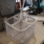 White Wicker Caddy 8'x8'x6'
