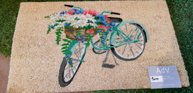 Bicycle Door Mat - Mori Gardens