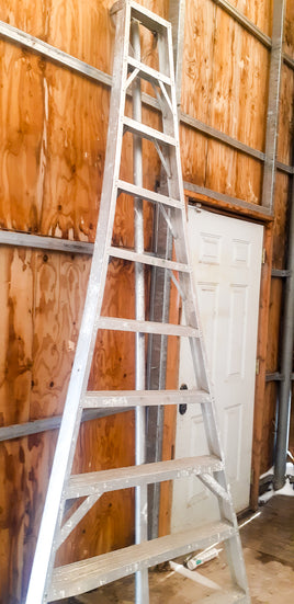 Metal Cherry Picking Ladder