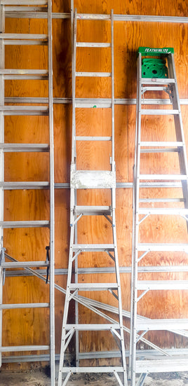 Extending Metal Ladder