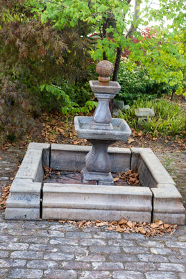 Fountain set, square