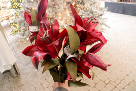 Artificial - Tiger lily dark red