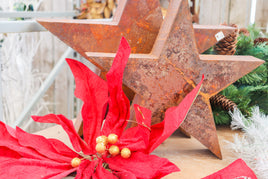 Star distressed metal