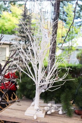 White Tree, LED