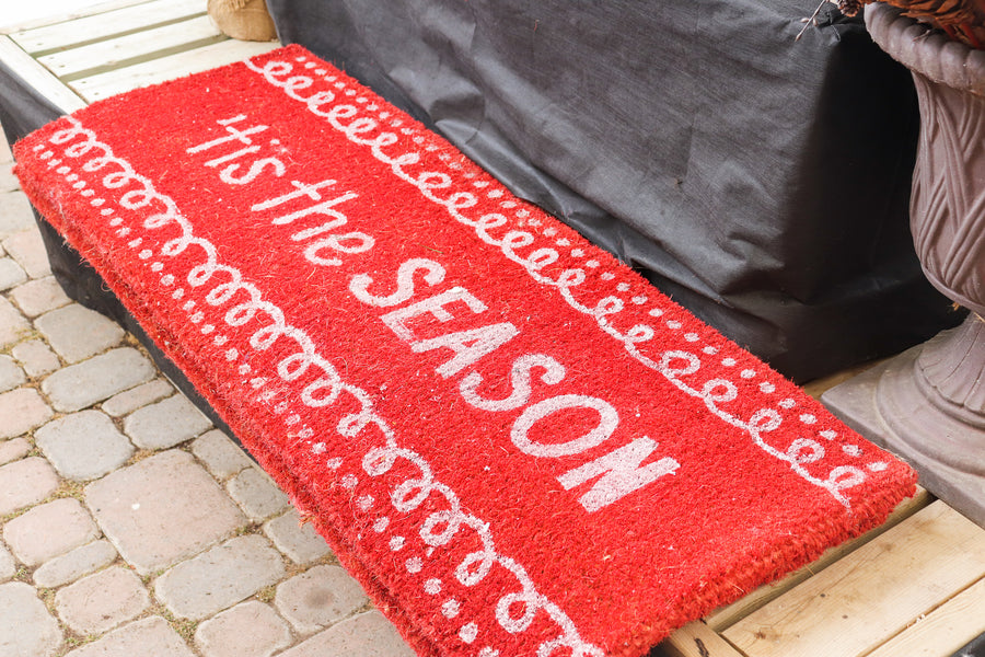 Mat Coir 'This the season' Red