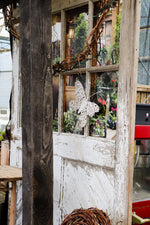 Rustic White Barn Door