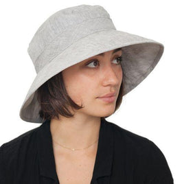 Sun Protection Garden Hat - Linen/Cotton - UPF 50+ - 97% UVA + UVB Protection