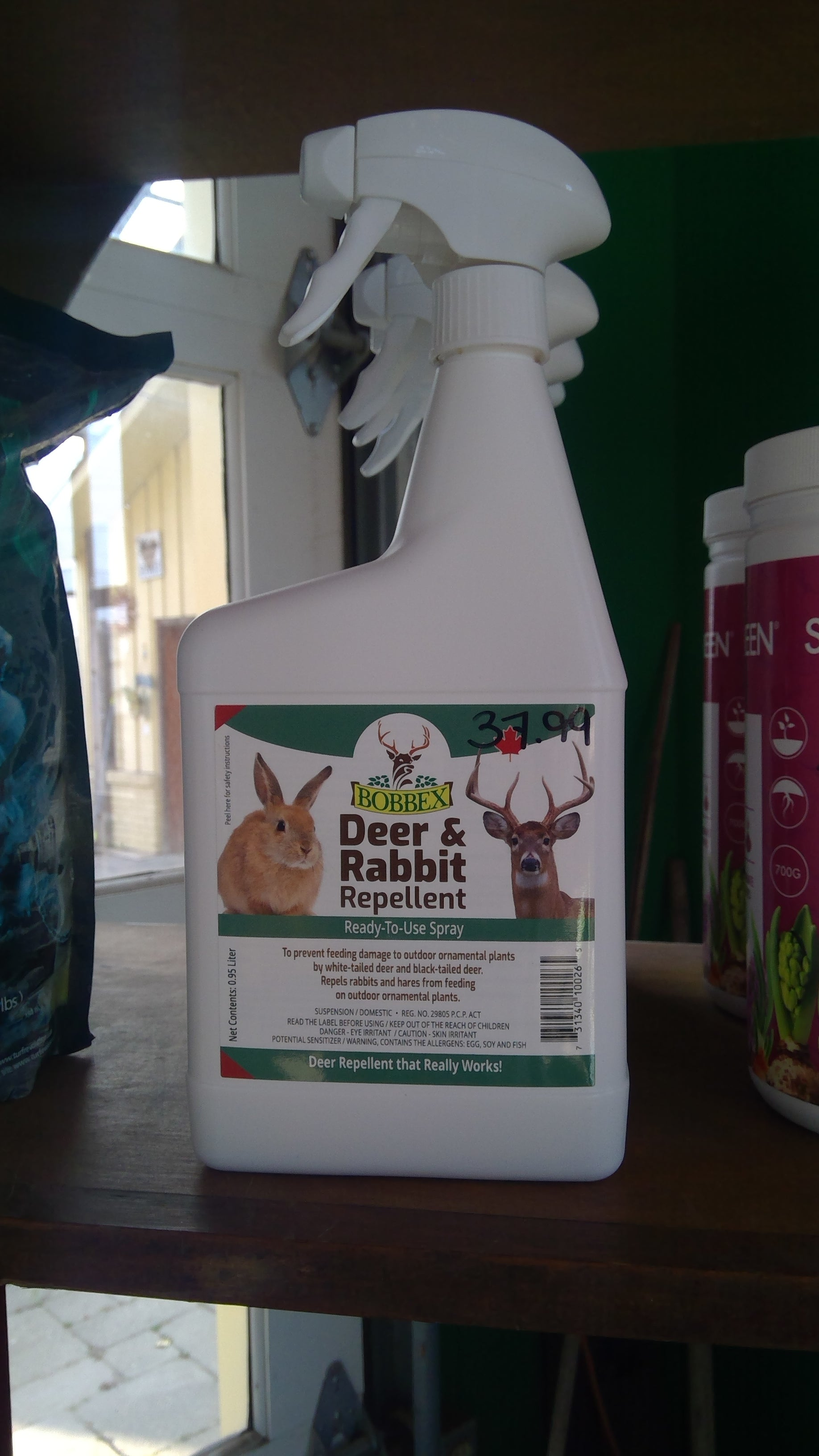 Deer & Rabbit Repellent