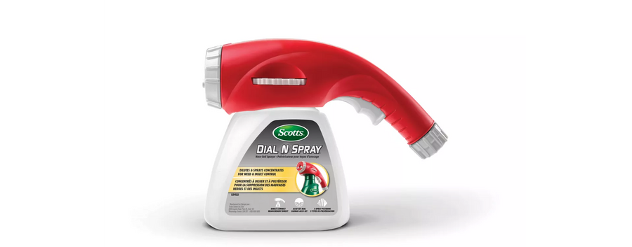 Dial 'n Spray® Multi-Use Hose-End Sprayer