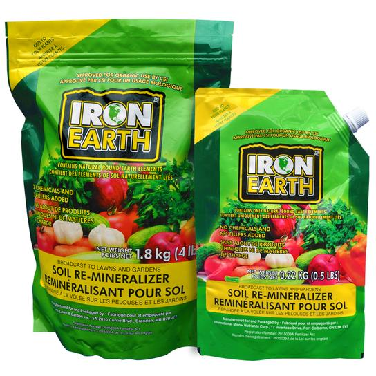IRON EARTH: Natural soil conditioner - Mori Gardens