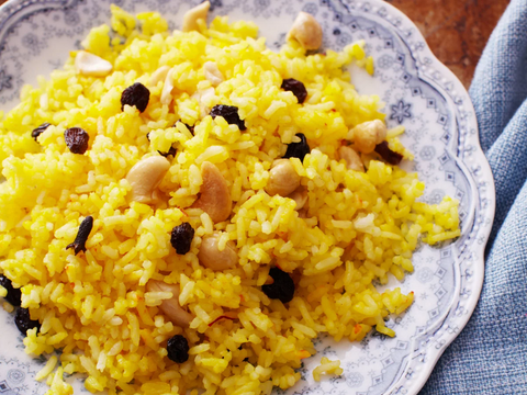 Hyacinth's Yellow Rice
