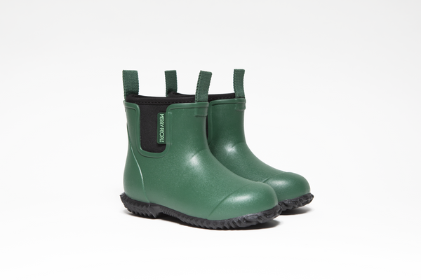 Bobbi Kids Rain Boot // Alpine Green - Merry People US