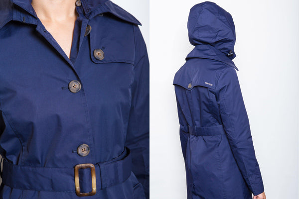 Charlotte Trench Coat // Navy - Merry People US