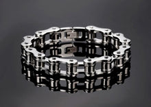Load image into Gallery viewer, Men Jewelry Bike Chain Stainless Steel Bracelet 8.5inch