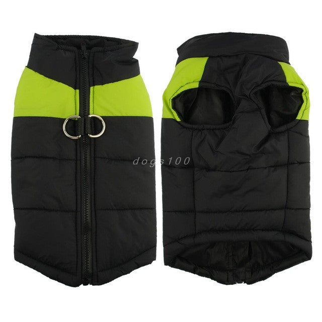 J&D Waterproof Pet Dog Puppy Vest Jacket