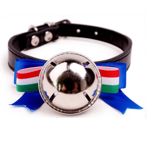 British style Cat & Dogs Pet Collar Bow Tie Bell Collar For Small Pets