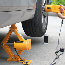 Load image into Gallery viewer, J&D 12V Jack Car Car Electric Jack Vehicle Electric Wrench Tire Remover Equipment