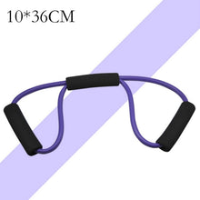 Load image into Gallery viewer, 120cm Elastic Resistance Bands Yoga Pull Rope Fitness Workout Sports Bands  Rubber Tensile Pull Rope Expander Banda Elastica A