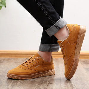 Men's Autumn Casual Travel Shoes Running Lace-up Sport Shoes