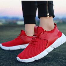 Load image into Gallery viewer, Fashion Men's Straps Sports Running Casual Sneakers Solid Shoes