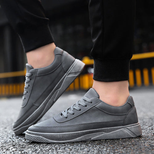 Men's Casual Travel Shoes Running Shoes Lace-up Flat With Sport Shoes