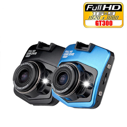 Mini Car DVR Camera GT300 HD 1080P Night Vision Video Recorder Hot Sale