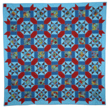 Load image into Gallery viewer, Underwater Stars Quilt Pattern BL101