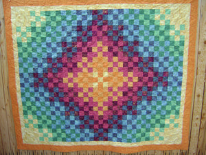 Trip around the world quilt pattern BL136