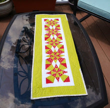Load image into Gallery viewer, Christmas Kaleidoscope Table Runner BL111