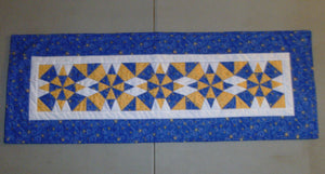 Christmas Kaleidoscope Table Runner BL111