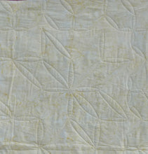 Load image into Gallery viewer, Batik Star baby quilt modern