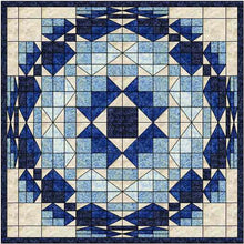 Load image into Gallery viewer, Blue lagoon quilt pattern BL141