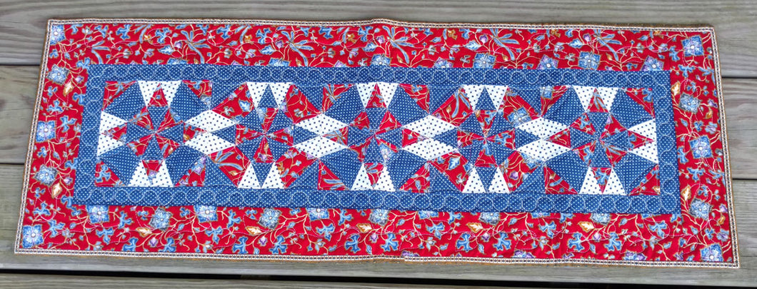 Singapore Asian star table runner