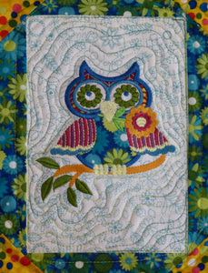 Embroidery frames quilt pattern BL103