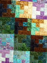 Load image into Gallery viewer, puzzle batik quilt