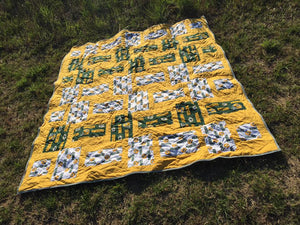 Crazy daisy quilt pattern BL 126