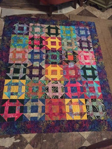Mother of pearl quilt pattern BL134 FQ friendly