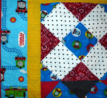 Load image into Gallery viewer, Train Ride quilt pattern BL125