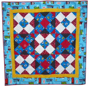 Train Ride quilt pattern BL125