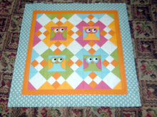 Load image into Gallery viewer, What a hoot quilt pattern BL135