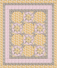 Load image into Gallery viewer, Woven Flower Stars Quilt pattern BL117
