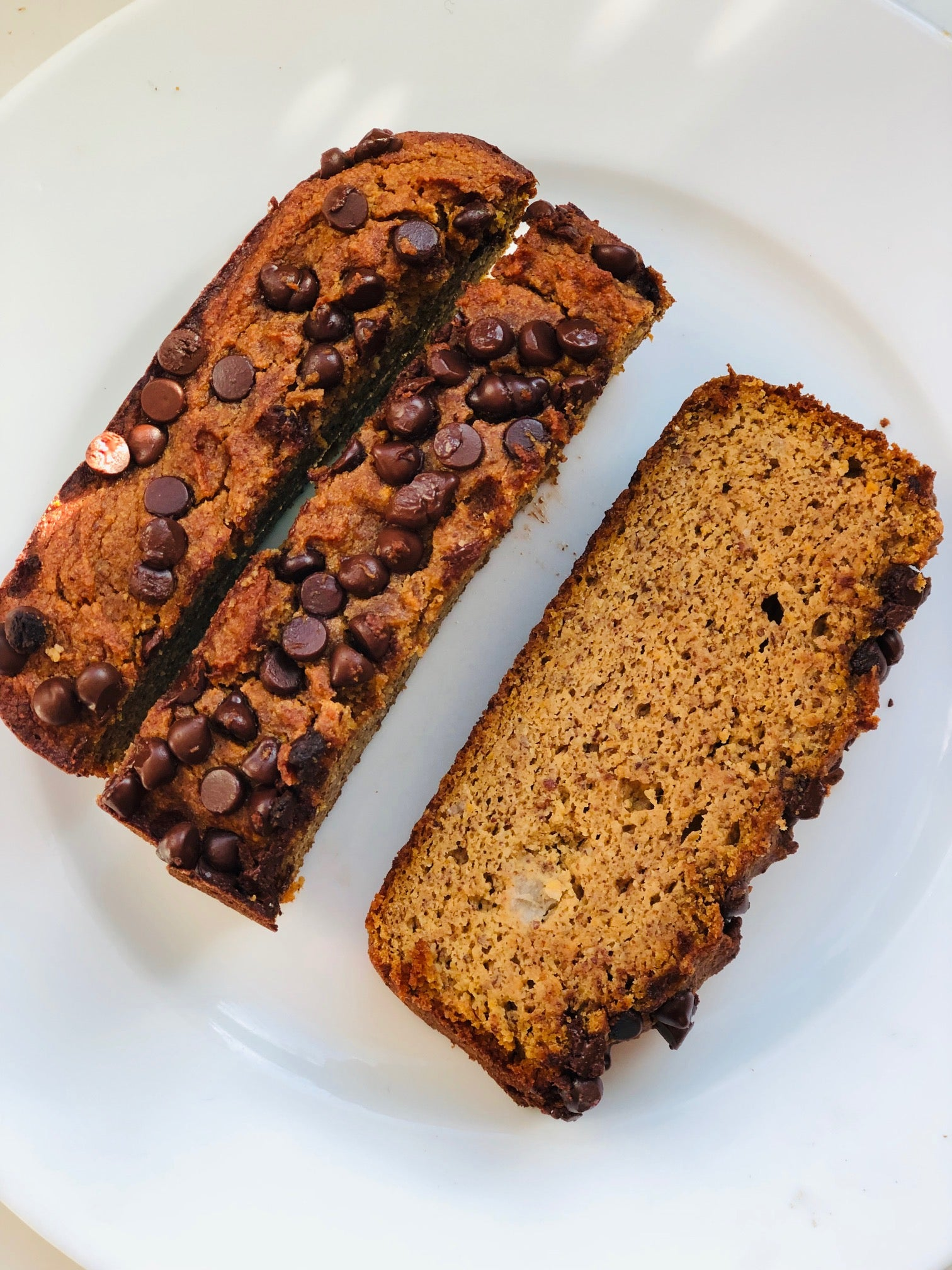 Sweet Potato & Banana Bread (Paleo, Grain Free, Gluten Free)
